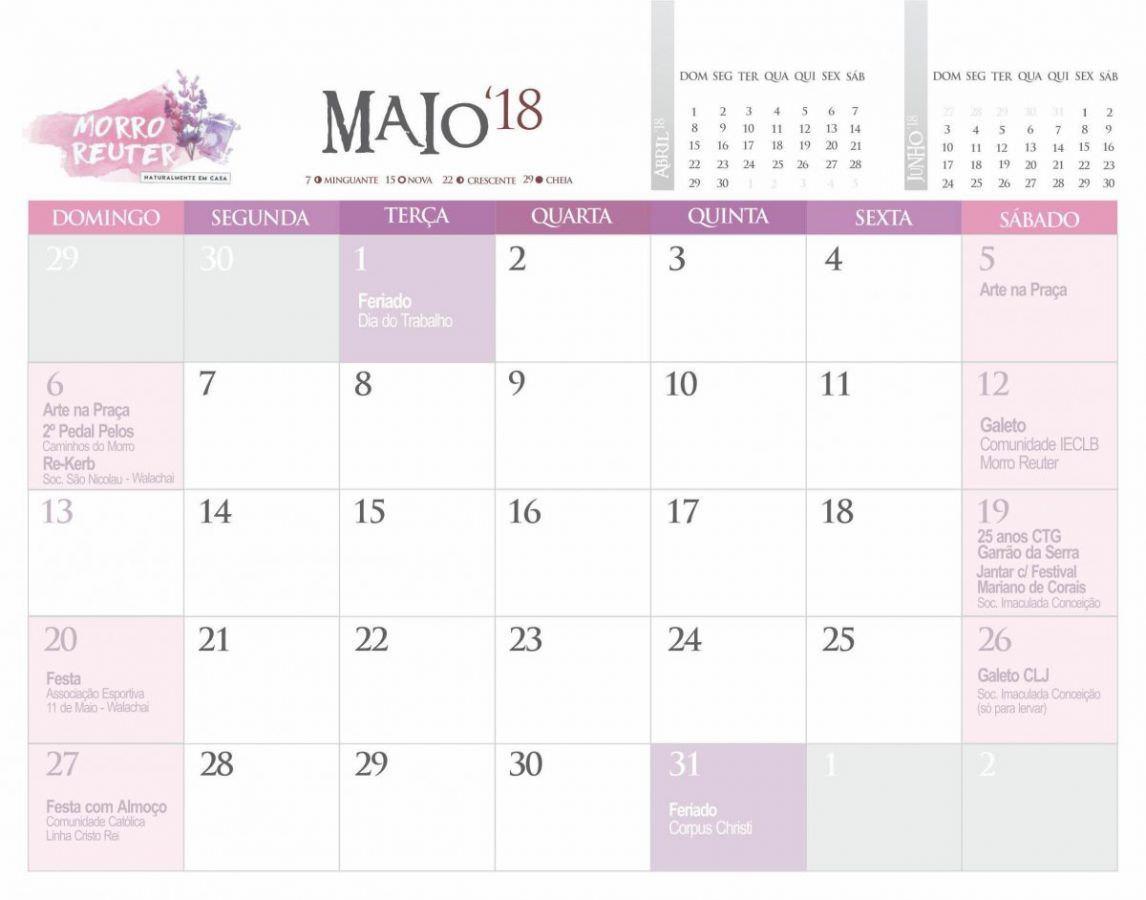 maio de 2018