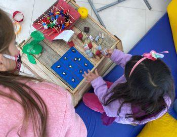 Alegria toma conta da criançada em Morro Reuter