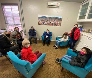 Alunos da Escola Edvino Bervian visitam a Prefeitura