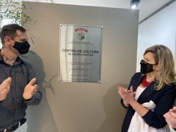 Inaugurado o Centro de Cultura de Morro Reuter