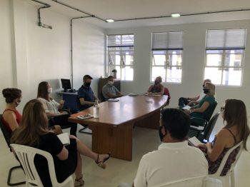 Morro Reuter tem a primeira reunião de secretariado