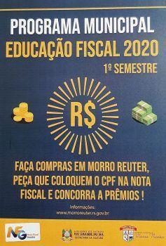 Programa de Educação Fiscal incentiva o consumo local