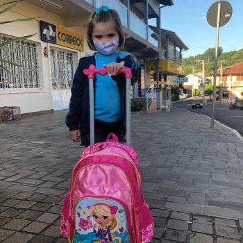 Volta às aulas com segurança em Morro Reuter
