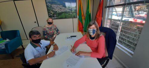 Assinado o contrato para execução do Lote 3 do Centro de Múltiplo Uso