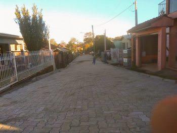 Concluída 20ª pavimentação comunitária em Morro Reuter