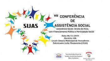 Conferência de Assistência social é nessa quarta-feira