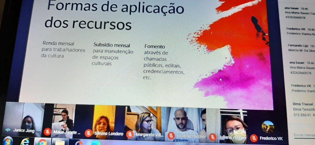 Conferência reuniu setor cultural de Morro Reuter