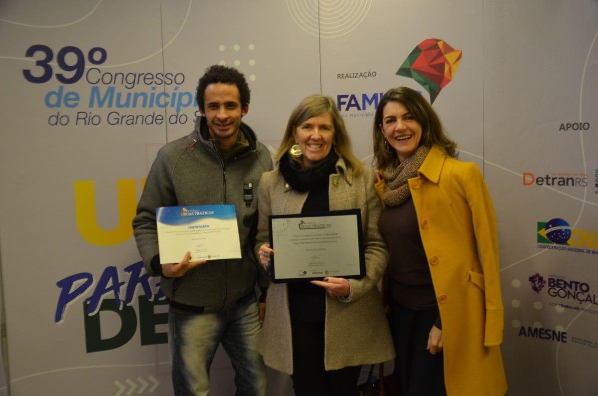Morro Reuter conquista 2º lugar em Premiação entregue pela Famurs