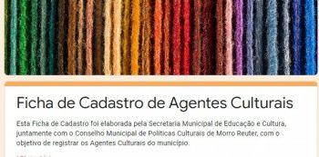 Morro Reuter realiza levantamento de seu setor cultural