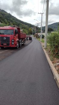 Rua Bela Vista está sendo concluída
