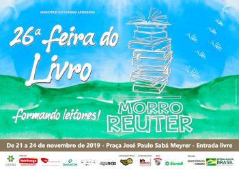 Vem aí a 26ª Feira do Livro de Morro Reuter!