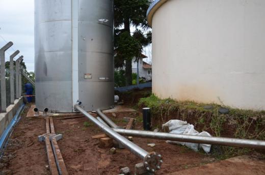 Corsan interliga novo reservatório em Morro Reuter