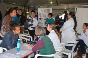 Ação Social ofereceu vários serviços à comunidade
