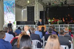 Autoridades e comunidade celebram a Festa Nacional da Lavanda