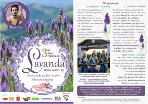 Contagem regressiva para a 3ª Festa Nacional da Lavanda